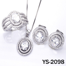 Modeschmuck Set 925 Silber (YS-2098, JPG)