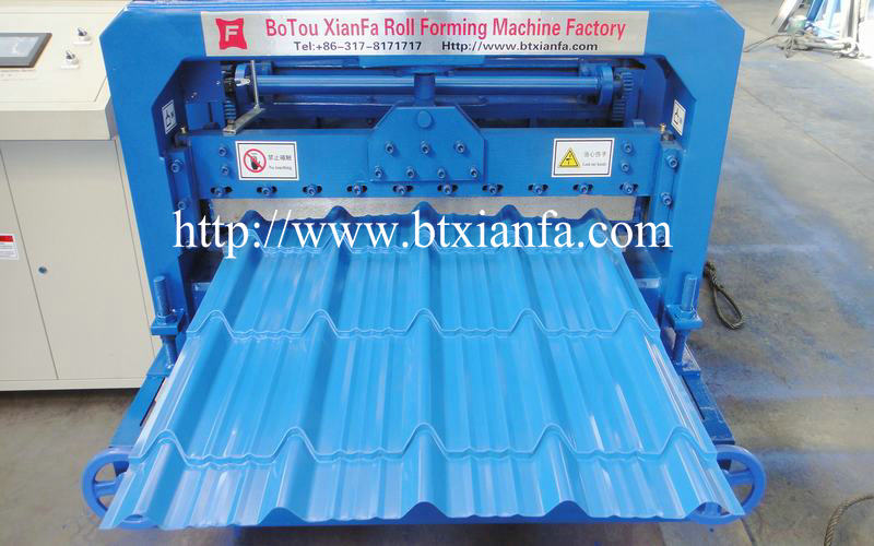 Sheet Roll Forming Roof Machine
