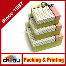 Caja de regalo de papel / caja de embalaje de papel (12d6)