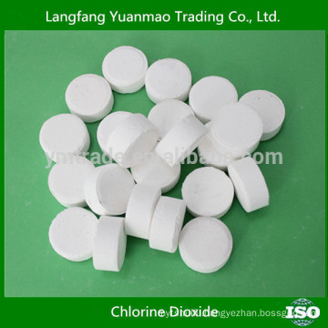 The Fourth Generation Chlorine Dioxide Disinfectant Tablets with Broad Spectrum