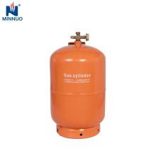 Cilindro de gas de 5 kg vacío de GLP para Dominica
