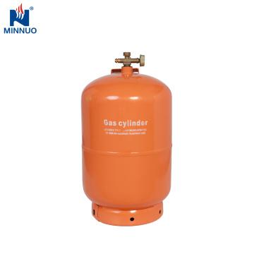 Cilindro recarregável do tanque de gás do lpg 5kg para Dominica