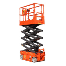 switchboard on the platform self propelled scissor lift