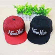 Mode gestickte Baumwolle Twill Hip Hop Trukfit Hüte (YKY3303)