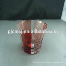 Kristallglasschale mit 2015 Glasschalen für böhmische Art der Geschäftsgeschenke
