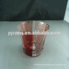2015 beautiful glass cup crystal cup for business gifts Bohemian style