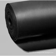 Feuille en caoutchouc noire de NBR pour la preuve de la chaleur
