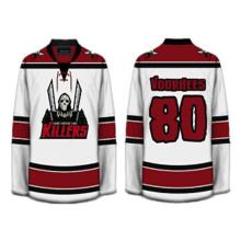 Jersey de hockey de sublimación transpirable