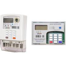 Однофазный сплит-счетчик с предварительной оплатой энергии (2-проводная связь)