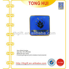 Pin / insignia de la solapa del recuerdo de la aleación del cinc del esmalte para la escuela