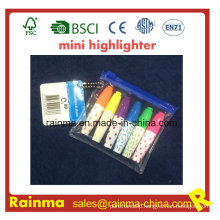 Plastic Mini Syringe Promotion Highlighter