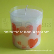 High Quality Pillar Shape Art Candle