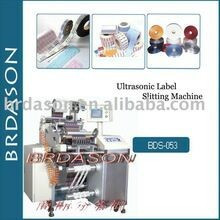 Máquina de corte ultra-sônica da etiqueta