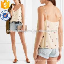 Gedruckt Seide Crepe De Chine Camisole Herstellung Großhandel Mode Frauen Bekleidung (TA4089B)