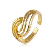 Xuping moda tamanho ajustável jóias anel