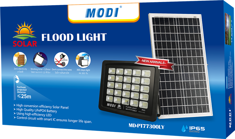 Green Solar Flood Light