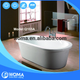 Q103A Foshan OEM/ODM bathroom shower free standing bathtub