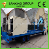 Sx-914-400 Self-covered arch steel curved roof roll forming machine