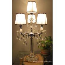 Decoración de la boda Lampshade lámpara de mesa (9034)