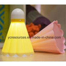 USB Lade LED Nachtlicht / Badminton Lampe