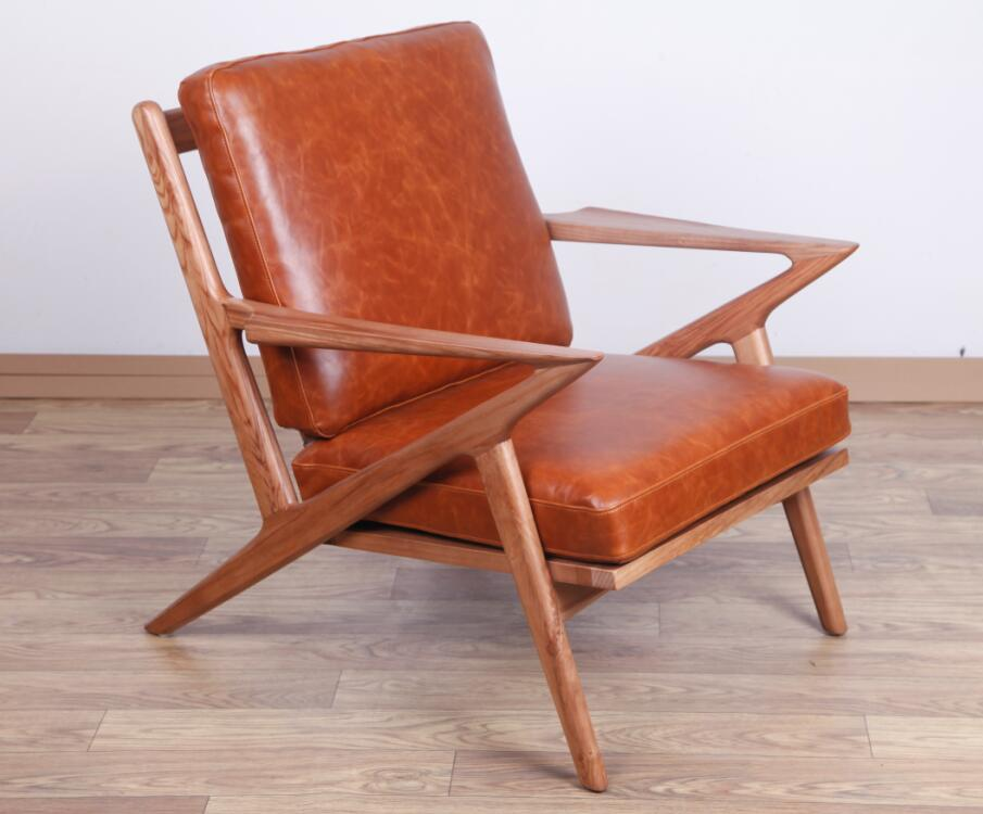 Vintage Leather Lounge Chairs