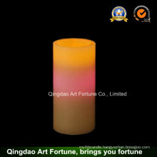 Flameless LED Wax Candle with Color Changing CE, RoHS Ceftificated