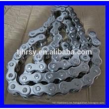 cadena de rodillos de acero inoxidable 12B