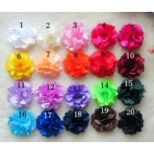 High Simulated Artificial Rose Flower Hair Clips Brooch Pins, Wedding Party Woman Flower Hair Fascinator