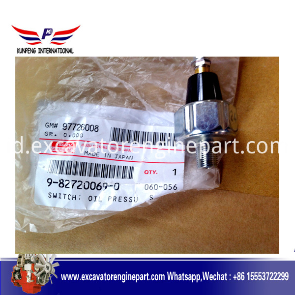Isuzu engine part Switch oil pressure 9827600690