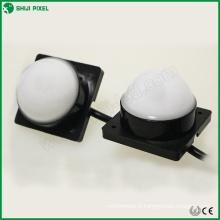 IP66 DC12V 50mm 6pcs SMD 5050 DMX RVB a mené le point de pixel pour l'éclairage extérieur