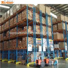 robuste double rack profond pour système d'entrepôt