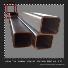 Tubo de aço quadrado sem costura de parede grossa