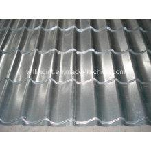 Gl galvanisierte gewölbte Stahldachziegel