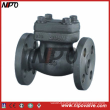 API 6D Flanged Forged Steel Check Valve