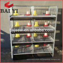 H-Typ 4-Schicht-Baby-Huhn-Käfig / Brooder / Tag alte Hühnerkäfige für Verkauf