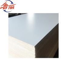 Tablero de partículas de melamina 1220X2440mm para muebles