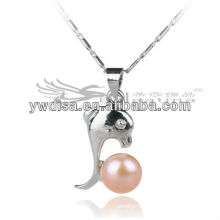 New Fashion High Quality Freshwater Peal Pendant 8mm Design For Girls/Women
