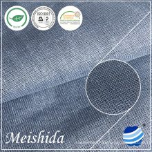 142 GSM Plain 100% linen fabric for men's shirts fabric supplier of fabric for clothing fabric for sale