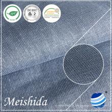 142 GSM Plain 100% tecido de linho para camisas masculinas tecido fornecedor de tecido para vestuário para venda