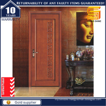 Wooden Hotel Interior Room Plywood Laminate Melamine PVC Wood Door