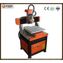 Madeira 3D que cinzela a máquina caseiro do Woodworking do router do CNC