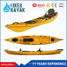 Fischerboot 4.3meter Sitzen auf Oberseite Kajak-Plastikfischen-Kajak