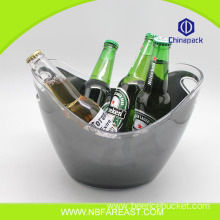 Quality assurance plastic cheap ice bucket