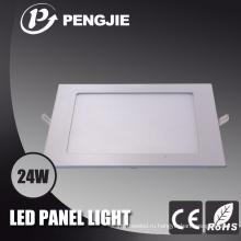 24w светодиодные потолочные светильники для офиса с CE
