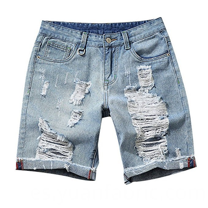 516fashion Men Summer Classic Denim Shorts