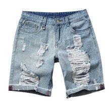 Fashion Men Summer Classic Denim Shorts