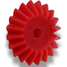 differential delrin plastic bevel gear for toys