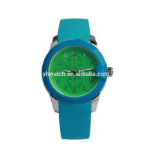 CE Rohs Minimalist Polish Silicone Kids Watch China Watch Factory Relojes de cuarzo unisex