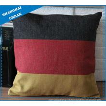 Cojín de lino de cama del textil casero