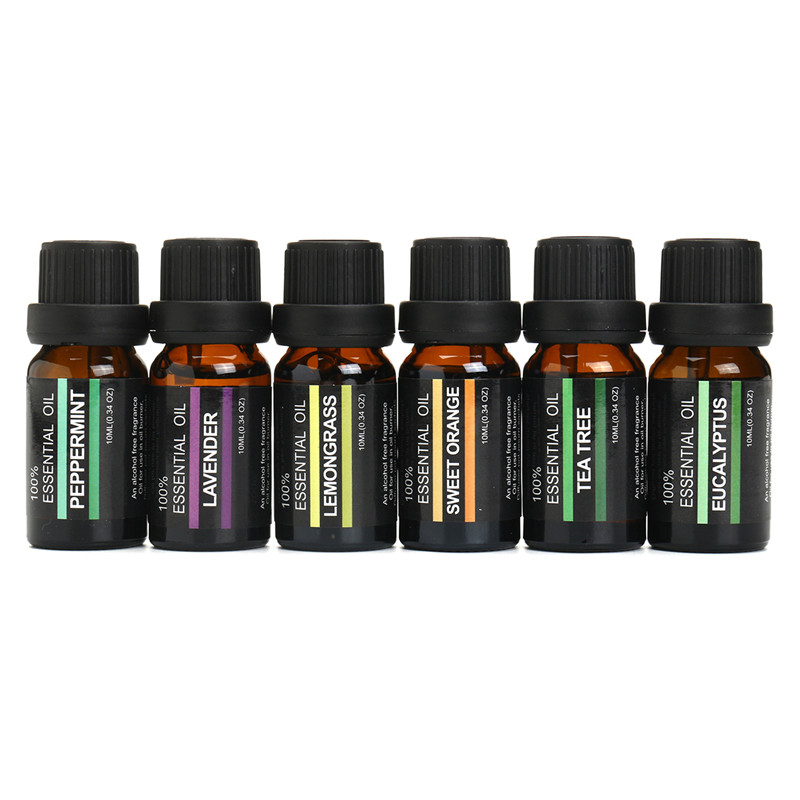 10ml Pure Natural Aromatherapy Oils Set